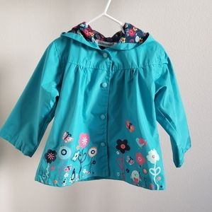 Keaiyouhno Toddler Girl Raincoat